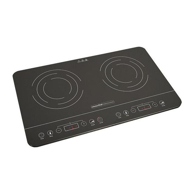 kitchen cc plaque induction 2 feux pas cher achat vente r chaud rueducommerce. Black Bedroom Furniture Sets. Home Design Ideas