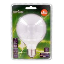 Nityam - Ampoule globe Led E27 10W équivalent a 60W