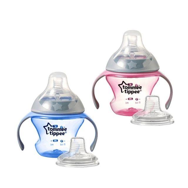 7/m sans BPA Rose Transitions de premi/ère Tasse /à partir de Tommee Tippee Age 4