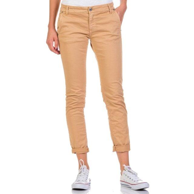 prix fou rechercher les plus récents design exquis Please - Pantalon Chino Camel - pas cher Achat / Vente ...