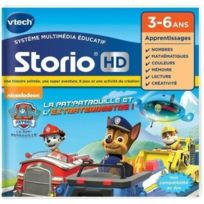 VTECH - Jeu HD Storio PAT PATROUILLE