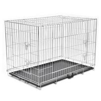Rocambolesk - Superbe Cage en métal pliable pour chien Xxl neuf