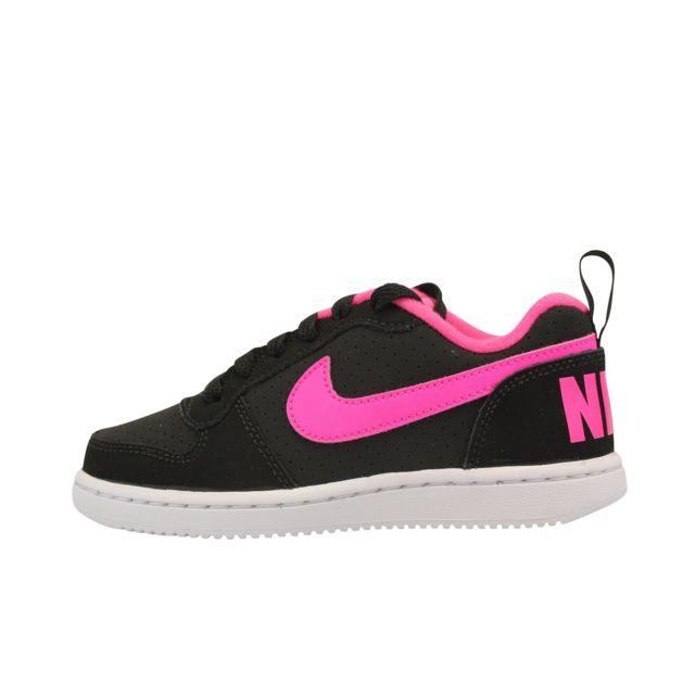 9b06e193ac6 Nike - Court Borough Low PS - pas cher Achat   Vente Baskets enfant -  RueDuCommerce