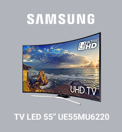 SAMSUNG TV LED 55'' UE55MU6220