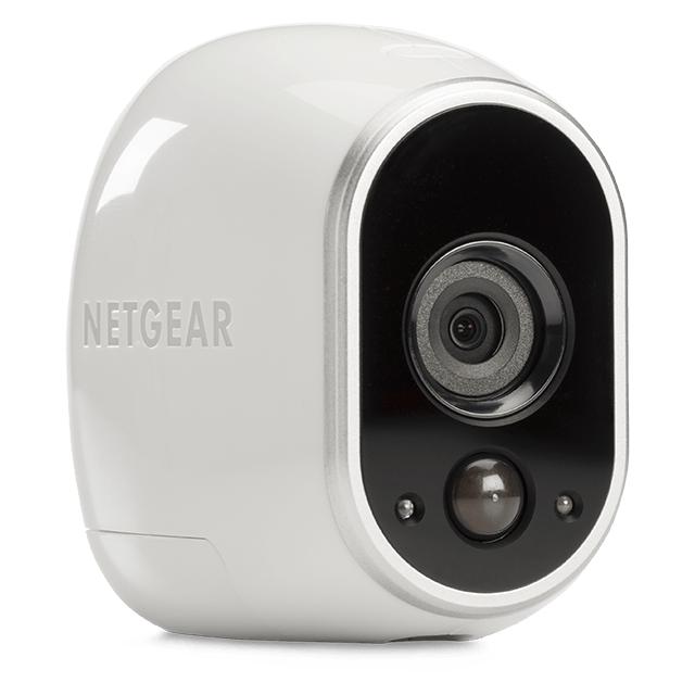 NETGEAR VMS3230 - Système de sécurité Arlo avec 2 caméras HD Caméras IP - Sans fil - Vision nocturne - Qualité 720p en direct - Alertes de mouvement - Utilisation extérieure - Application en libre accès et stockage gratuit sur le cloud