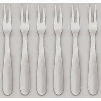 JEAN DUBOST - lot de 6 fourchettes à escargots - 11218