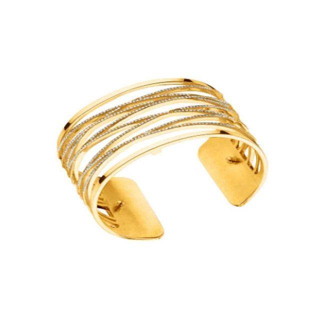 Les Georgettes , Bracelet Manchette Liens Pour Femme En Plaqué Or Jaune 40  Mm , pas cher Achat / Vente Bracelets , RueDuCommerce
