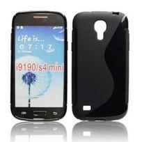 Bluetrade - Coque Tpu type S pour Samsung Galaxy s4 mini i9190-noir