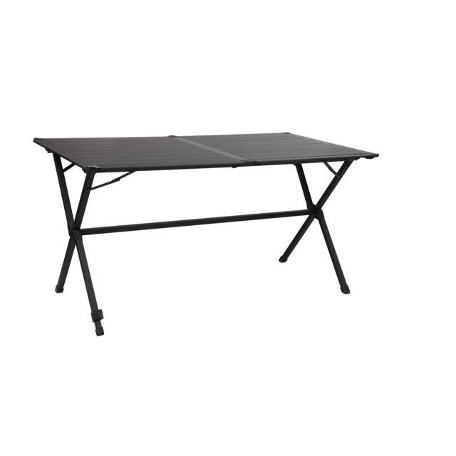 Amazing midland table pliante gap less noire personnes - Petite table de jardin pas cher ...