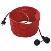 Bachmann - 343.370 Rallonge pour tondeuse à gazon Rouge 25m