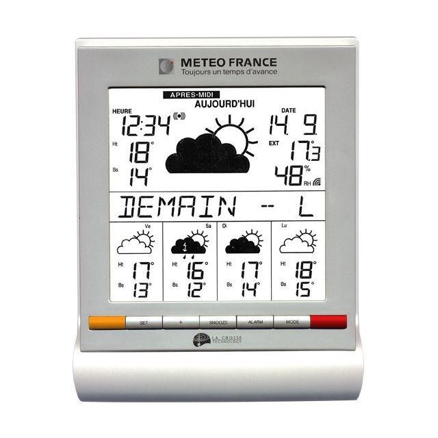 la crosse - station météo technology wd9541f-it-wh-s - pas cher