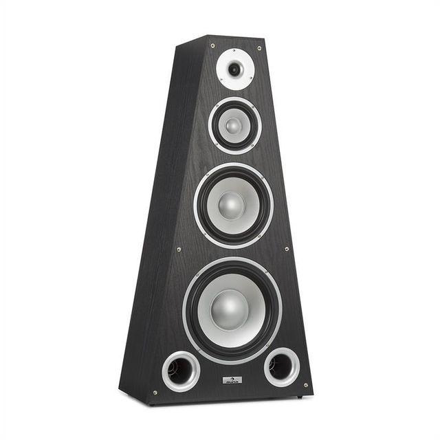 AUNA SP-800 4-Wege HiFi Lautsprecher Pyramide 330 Watt schwarz