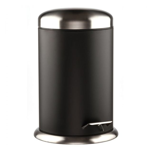 Jja Poubelle luxe 12 litres Noir