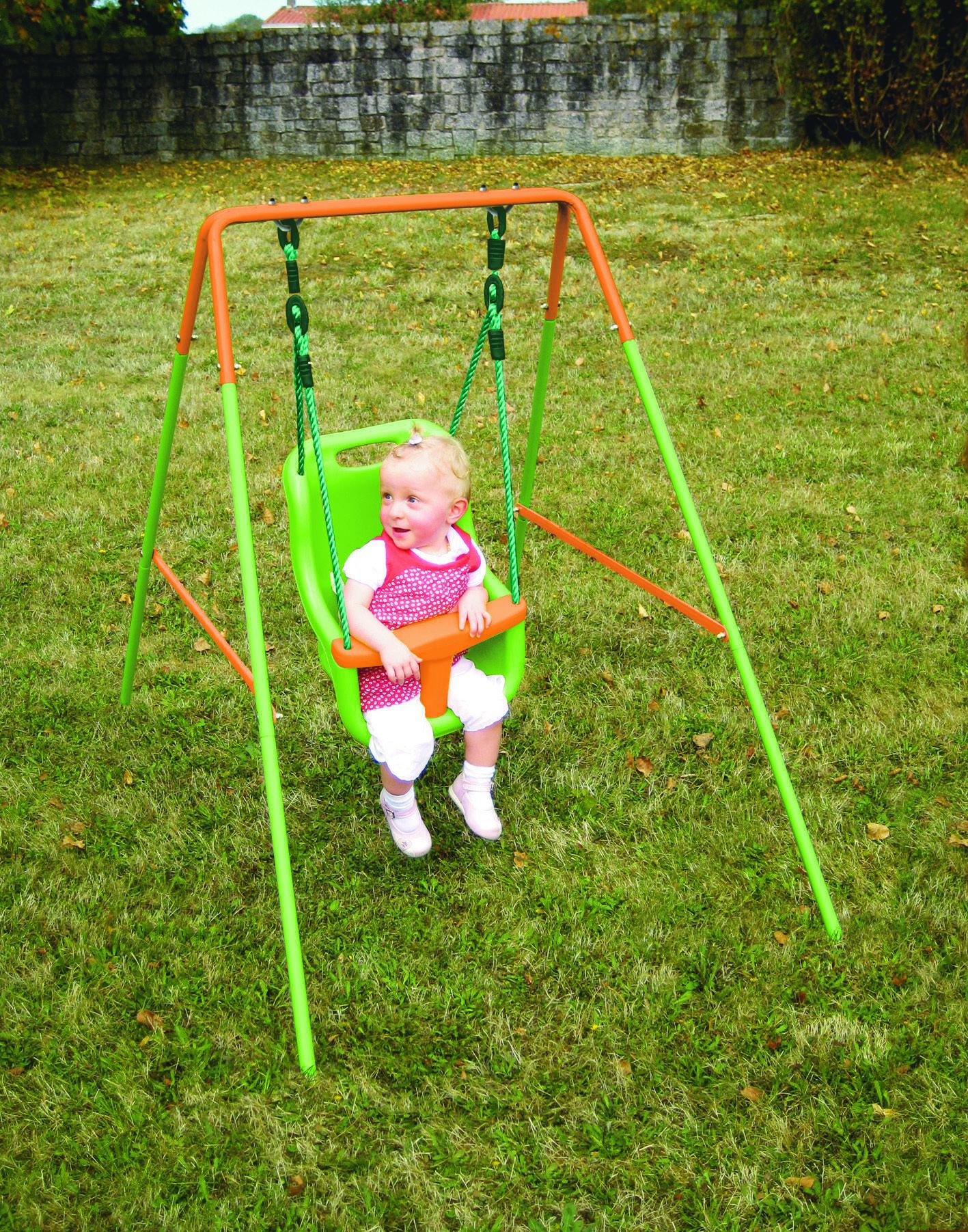 Portique bébé - Acier - H 120 cm - Dès 6 mois