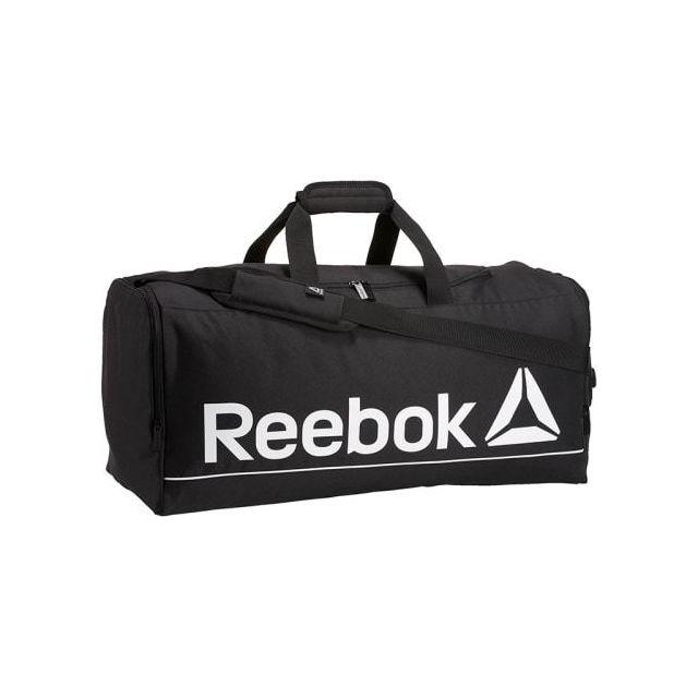 0293ae40c8 Reebok - Sac Action Royal Backpack Medium noir blanc - pas cher ...