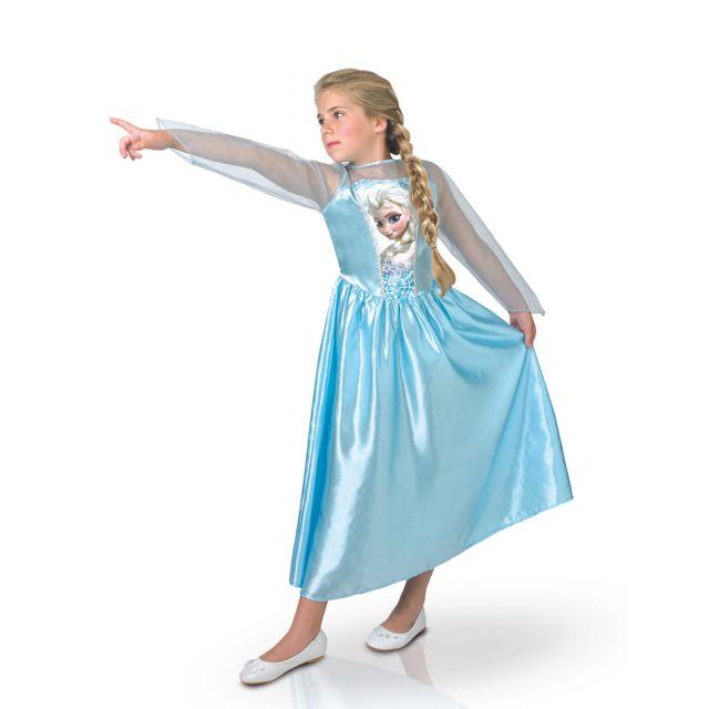 Sans - Déguisement Reine des Neiges Elsa Frozen fille - taille - 9 à 10 ans 3d8f5450aaa2