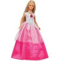 Jenny - Poupée romantique : Robe Blanche et rose