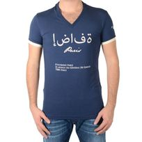 Hechbone Paris - Tee Shirt Le Mascate Bleu