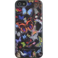 Christianlacroix - Coque Butterfly Parade de Christian Lacroix couleur Oscuro pour iPhone 5/5S