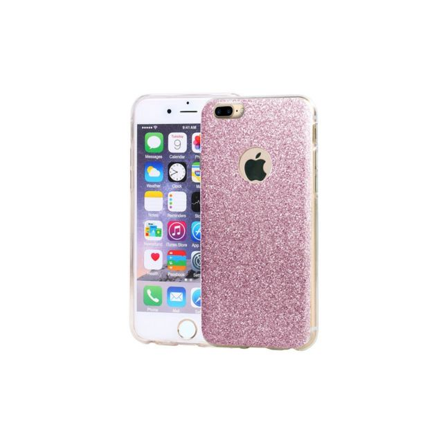 coque silicone paillette iphone 7 plus
