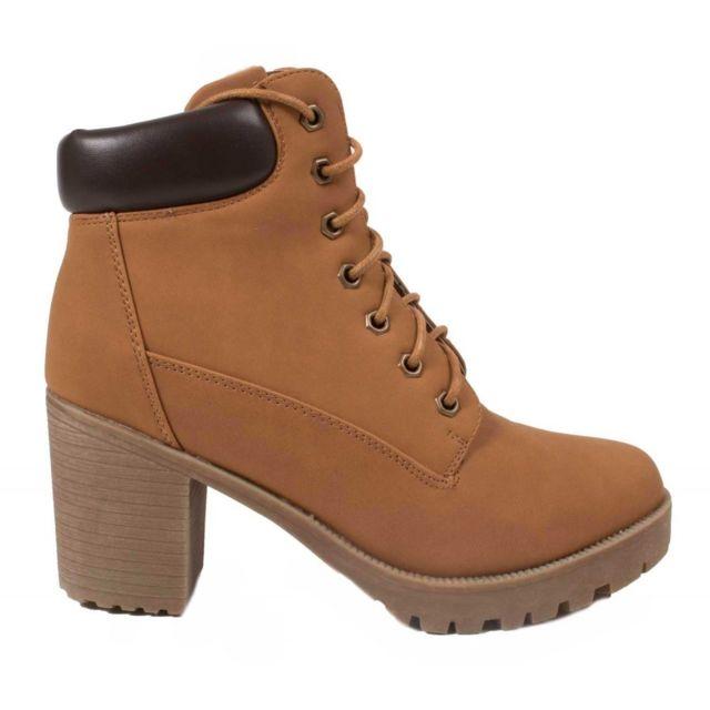 Primtex Rangers semelle femme Boots avec lacets talon y0wmNvnOP8