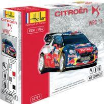 Heller - Maquette voiture : Kit complet : Citroën Ds3 Wrc'12