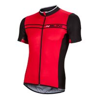 Nalini - Maillot Red Label Sinello Ti manches courtes rouge noir