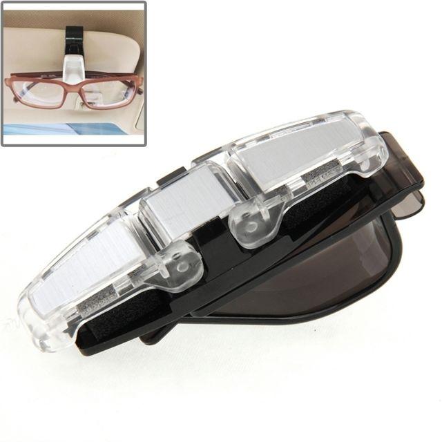 93bb397e1441d6 Wewoo - Clips pour lunette de soleil voiture Véhicule Accessoire Double Clip  Design Lunettes de Lunettes