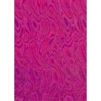 Ki-sign - Tissu thermocollant pailleté Holo Rose Vagues