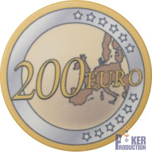Poker Production - Jetons Euro : 200