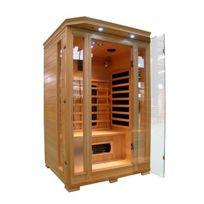 Concept Usine - Cabine Sauna Infra Rouge 2 Places Luxe
