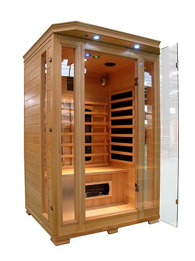 Cabine Sauna Infra Rouge 2 Places Luxe