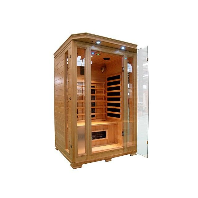 concept usine - cabine sauna infra rouge 2 places luxe - pas cher