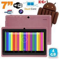 Tablette tactile Android 4.4 KitKat 7 pouces Dual Core 4Go Violet