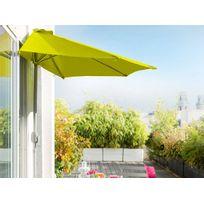 HESPERIDE - Demi parasol de balcon Serena Pistache