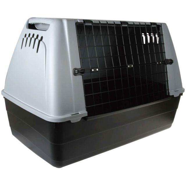 zolux cage de transport pour grand chien 88x51x58cm. Black Bedroom Furniture Sets. Home Design Ideas
