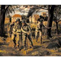 Master Box - Figurines 2ème Guerre Mondiale : Parachutistes Us : 82ème et 101ème Airborne 1944