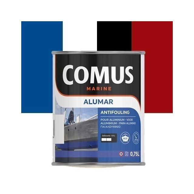 comus alumar sm blanc 300 750 ml peinture antifouling pour aluminium matrice semi dure. Black Bedroom Furniture Sets. Home Design Ideas