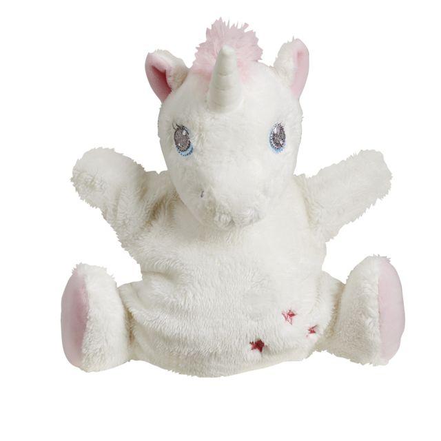 TEX BABY - Doudou marionnette licorne - pas cher Achat   Vente ... 326dd2b85cb8
