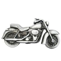 Universel - Boucle de ceinture moto chopper alu homme femme biker ... 03f9c4df41e