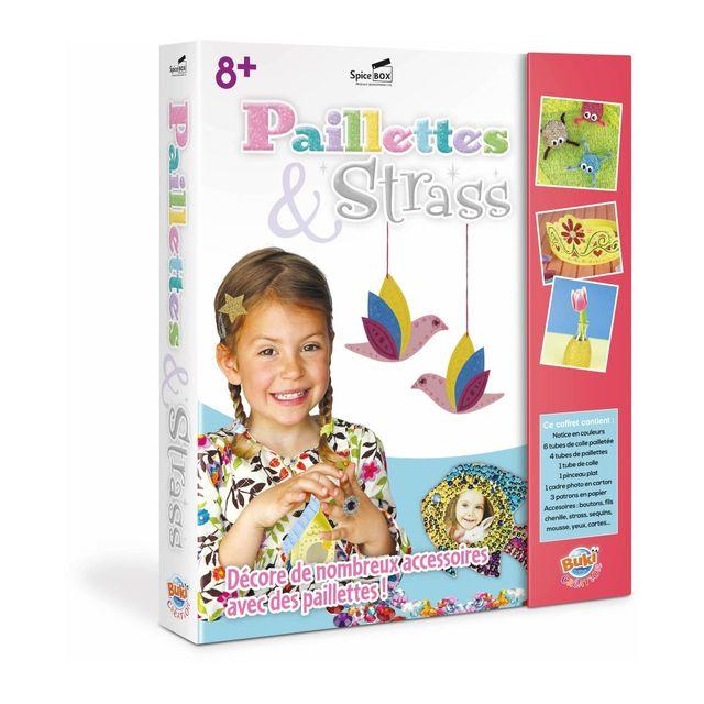 BUKI Loisirs Créatifs - Paillettes & Strass - 22836
