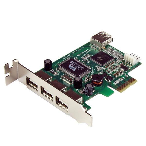 STARTECH - Carte contrôleur PCI Express à 4 ports USB 2.0