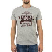 Kaporal 5 - Tee shirt kaporal mever gris