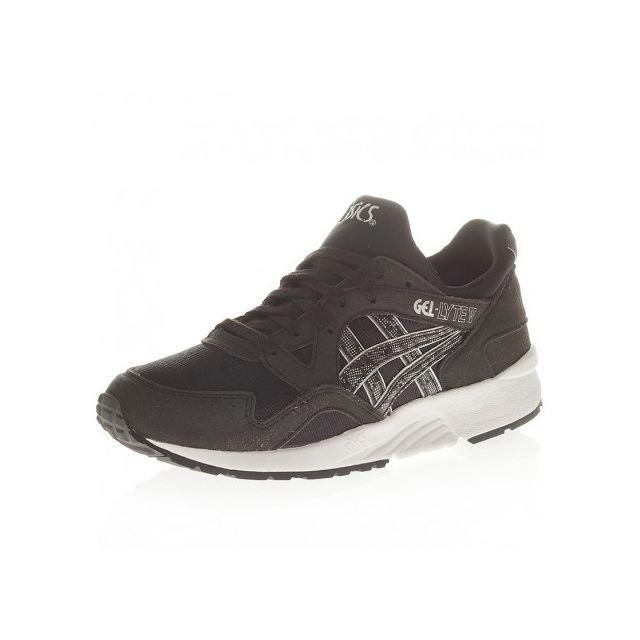 fcc7849bdc84b Asics - Chaussures Gel Lyte V Noir Enfant Homme 35 1 2 - pas cher ...