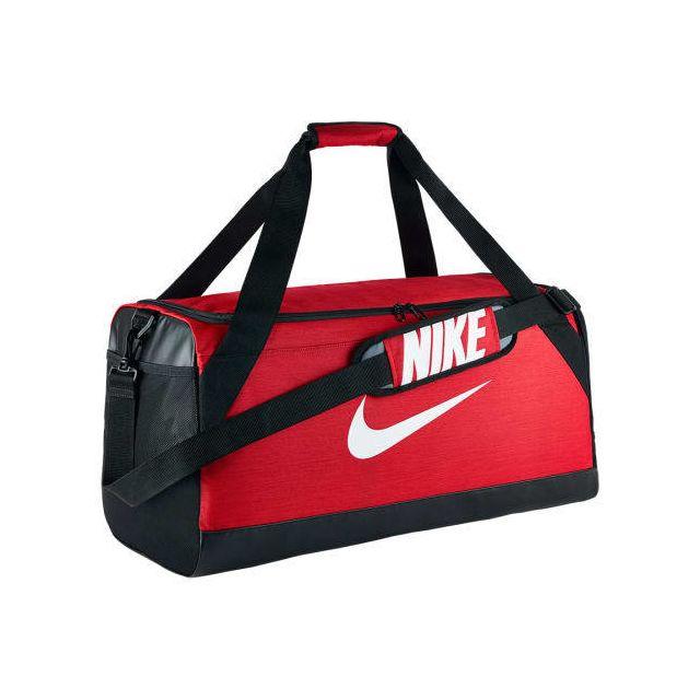 6dc4e21d06 Nike - Sac de sport Brasilia Medium Duffel rouge - pas cher Achat / Vente  Sacs à dos - RueDuCommerce