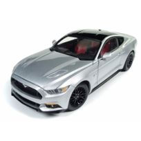 Auto World - Ford Mustang Gt Silver 2017 1/18 - Aw237 Autoworld