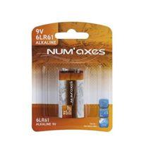 Numaxes - Blister 1 pile 6LR61 alcaline 9 V