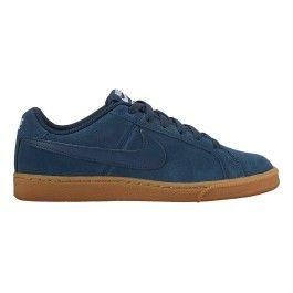 Nike Chaussures Court Royale Suede bleu femme pas cher