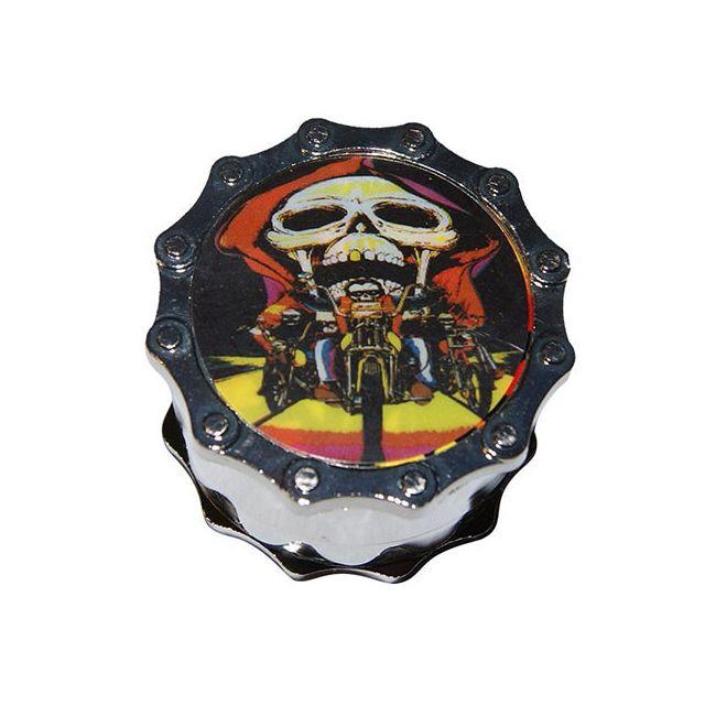Smoke Pas Cher Grinder alu 4 parts diam 54 - Skull