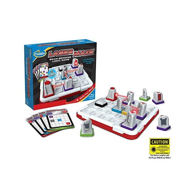 "Think Fun ThinkFun Laser Maze Class 1, Logic Game and Stem Toy for Boys and Girls Age 8 and Up a"" Award Winning Game for Kids"